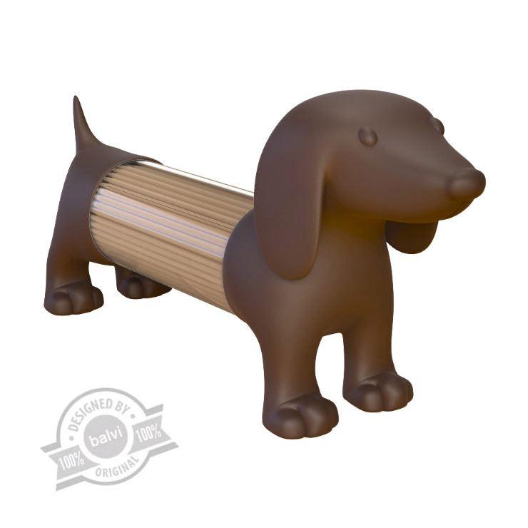 perro salero palillero