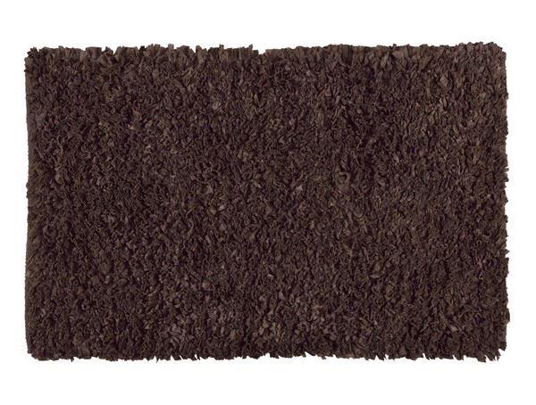 Alfombra chocolate petalos 50*80cm