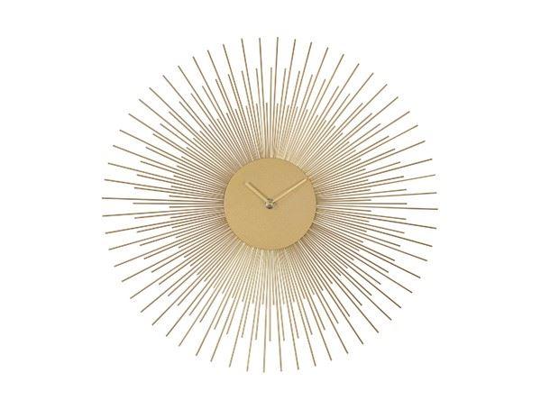 Reloj de Pared Dorado sol 45cm
