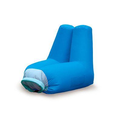 Sillon inflable azul de Balbi