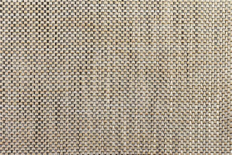 Mantel individual cuadritos tono arena