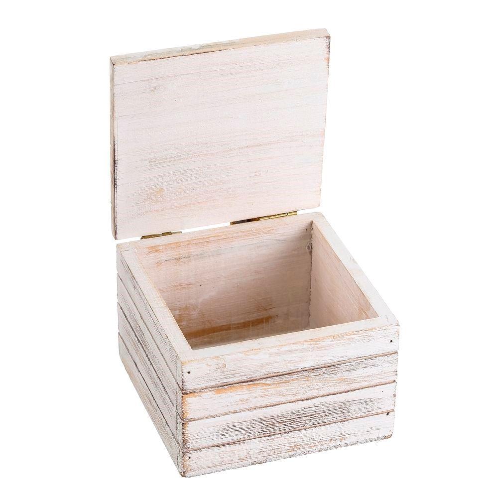 Caja madera peces