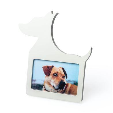 Marco para fotos en forma de perro